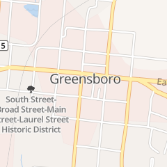Directions for Vivi's Nails in GREENSBORO, GA 108 S Main St