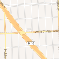 Directions for Mcdonald's Restaurant in Detroit, MI 14240 W 7 Mile Rd