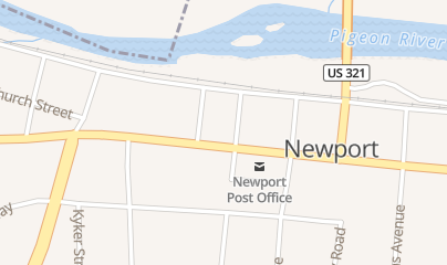 Directions for Movie Time Video in Newport, TN 150 E Broadway