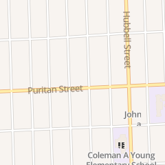Directions for God Ways Cathedral in Detroit, MI 14820 Puritan St