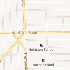 Directions for David Grachek Jr Dds in Southgate, MI 13745 Northline Rd