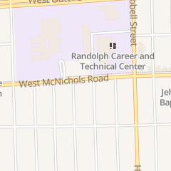 Directions for Center for Comprehensive Medicine Pharmacy in Detroit, MI 14825 W Mcnichols Rd