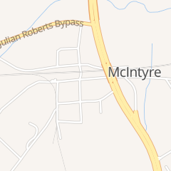 Directions for Bumper To Bumper - Mcintyre Auto Parts and Supplies in Mc Intyre, GA 110 Railroad St
