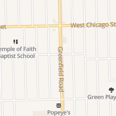 Directions for Captain J's Fish and Chicken in Detroit, MI 9233 Greenfield Rd