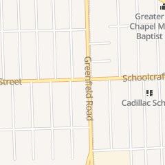 Directions for Caribbean Grill and Kitchen in Detroit, MI 15539 Schoolcraft St