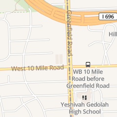Directions for Prime Time in Southfield, MI 15600 W 10 Mile Rd Unit 1a