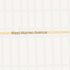 Directions for Lulu's in Detroit, MI 16205 W Warren Ave