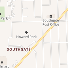 Directions for WALMART SUPERCENTER in SOUTHGATE, MI