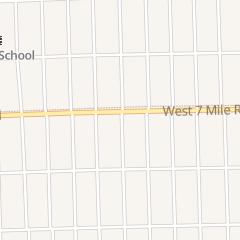 Directions for Saint Paul Community Christian Church in Detroit, MI 16301 W 7 Mile Rd
