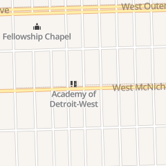 Directions for Spud Headz in Detroit, MI 16400 W Mcnichols Rd
