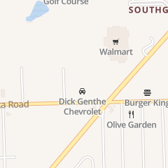 Directions for Dick Genthe Chevrolet Inc in Southgate, MI 15600 Eureka Rd