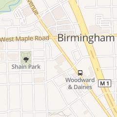 Directions for Schubot Jewellers in Birmingham, MI 230 E Merrill St