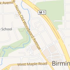 Directions for Greenstone's Fine Jewelry in Birmingham, MI 430 n Old Woodward Ave
