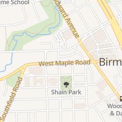 Directions for STREET in Birmingham, MI 280 W Maple Rd