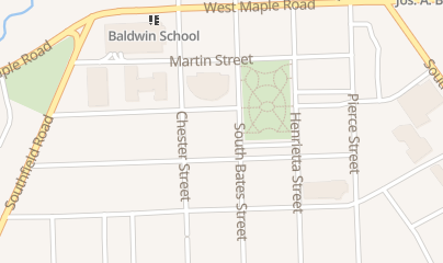 Directions for Birmingham Ballet & Jazz School in Birmingham, MI 380 S Bates St