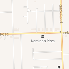 Directions for Domino's Pizza in Southgate, MI 17657 Eureka Rd