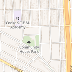 Directions for North Rosedale Park Community House - Reservations-9:00 Am-11:00 Am in Detroit, MI 18445 Scarsdale St