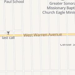 Directions for Alsadeq Center in Detroit, MI 19111 W Warren Ave