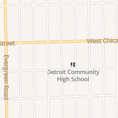 Directions for Saint Suzanne Church in Detroit, MI 9357 Westwood St