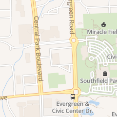 Directions for March of Dimes in Southfield, MI 26261 Evergreen Rd