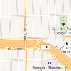 Directions for Beth-El Community Church of God and Christ in Detroit, MI 20748 Schoolcraft