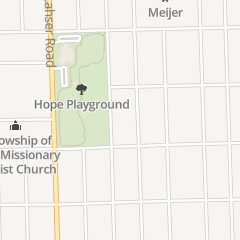 Directions for His Forgotten Harvest Ministries in Detroit, MI 16150 Burgess