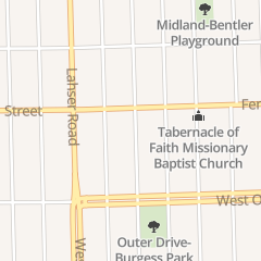 Directions for Brightmore Apostolic Church in Detroit, MI 15133 Burgess St