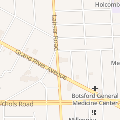 Directions for Redford Theatre in Detroit, MI 17360 Lahser Rd