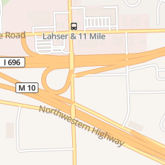 Directions for Subway Sunrise Donuts in Southfield, MI 26760 Lahser Rd