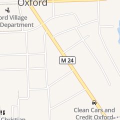 Directions for Lee D Knauf Pc Atty in Oxford, MI 95 S Washington St