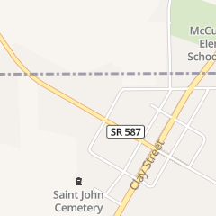 Directions for PLANK ROAD TAVERN & RESTAURANT in MC CUTCHENVILLE, OH PO BOX 136