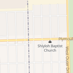 Directions for Judah Evangelistic in Redford, MI 22740 Plymouth Rd
