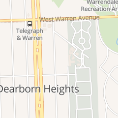 Directions for Vfw (Veterans of Foreign Wars) - Posts in Dearborn Heights, MI 6828 N Waverly St