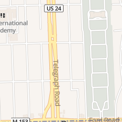 Directions for Traction Bar & Grill in Dearborn Heights, MI 5990 N Telegraph Rd