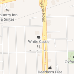 Directions for White Castle Restaurant in Dearborn, MI 2226 S Telegraph Rd