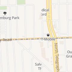 Directions for Greater Detroit Baptist Association in Redford, MI 24250 Joy Rd