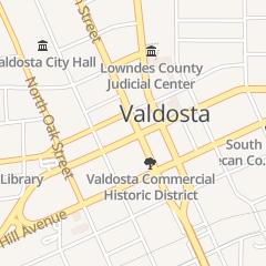 Directions for Luke Closson Atty in Valdosta, GA 114 W Central Ave