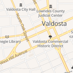 Directions for First Baptist Church in Valdosta, GA 116 N Toombs St