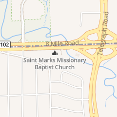 Directions for New St Mark Missionary Baptist in Detroit, MI 24331 W 8 Mile Rd