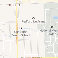 Directions for St John Bosco Parish in Redford, MI 12100 Beech Daly Rd