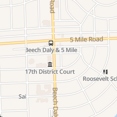 Directions for Nightowl Printing in Redford, MI 15138 Beech Daly Rd