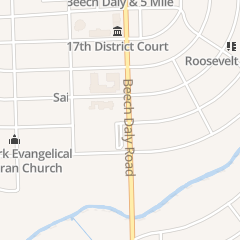 Directions for St Valentine's Church in Redford, MI 14841 Beech Daly Rd