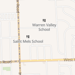 Directions for Saint Mel's Catholic Church in Dearborn Heights, MI 7506 N Inkster Rd