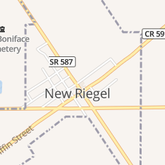 Directions for New Riegel Cafe in New Riegel, OH 14 N Perry St