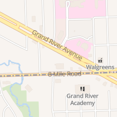 Directions for Bahama Motel in Farmington Hills, MI 28051 Grand River Ave