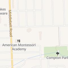 Directions for St Genevieve Parish in Livonia, MI 29015 Jamison St