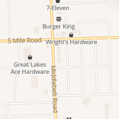 Directions for Bill & Rod's Appliance in Livonia, MI 15210 Middlebelt Rd
