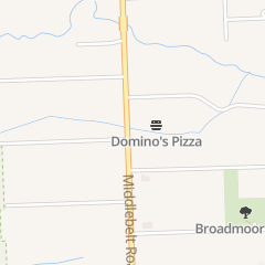 Directions for Domino's Pizza in Livonia, MI 16136 Middlebelt Rd