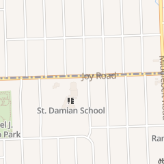Directions for ST DAMIAN RECTORY in Westland, MI 29825 Joy Rd