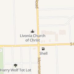 Directions for Mama Vera's Pizza in Livonia, MI 15385 Merriman Rd